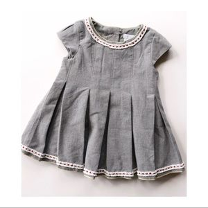 Tahari Infant Gray Formal Dress